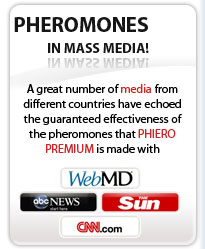 Pheromones in mass media